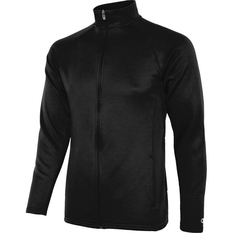 Colorblock Tech Fleece Performance Full Zip Jacket