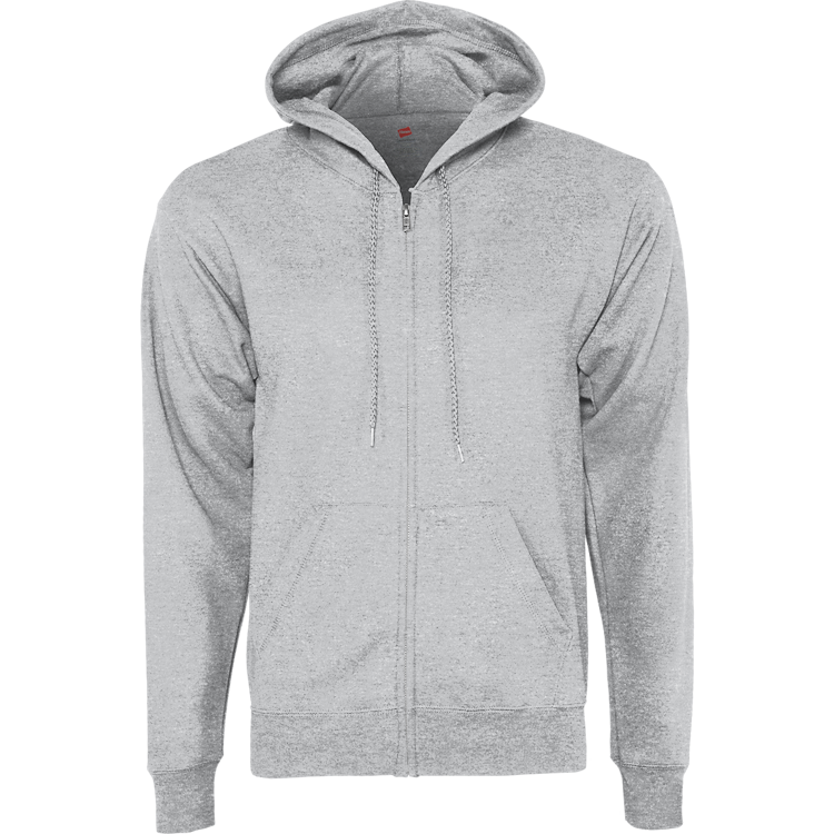 FLEECE ZIPUP HOODIE W/LOGO ON BACK (MEN/YOUTH)