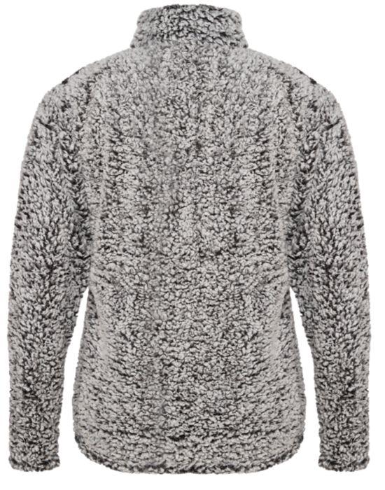 *NEW* Black Heather Sherpa Jacket