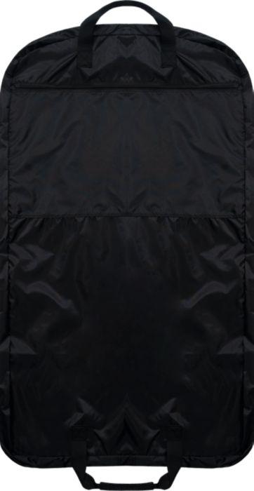Navy Garment Bag with Silver Glitter Logo
