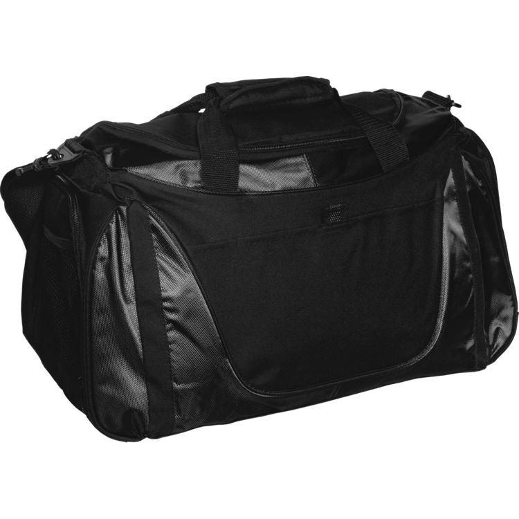 Small Two-Tone Duffle Bag