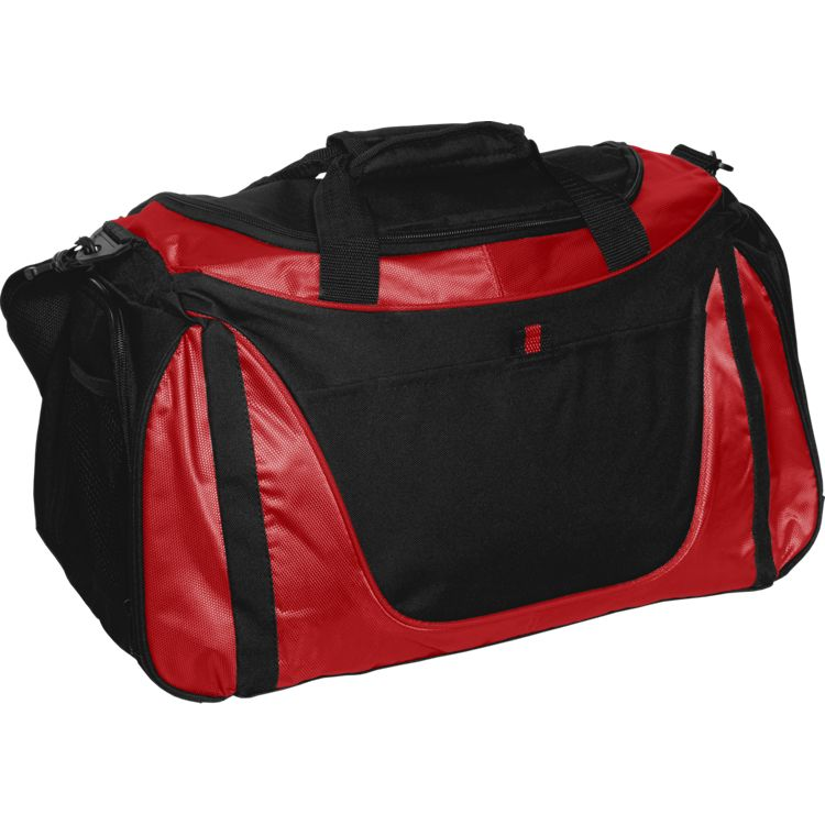 Small Two-Tone Duffle Bag