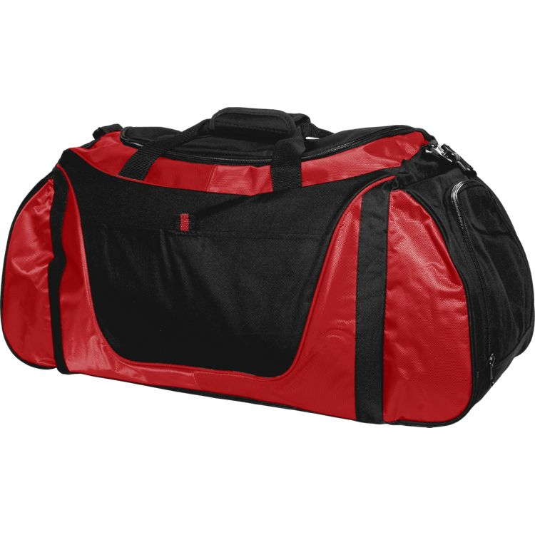 Medium Two-Tone Duffle Bag