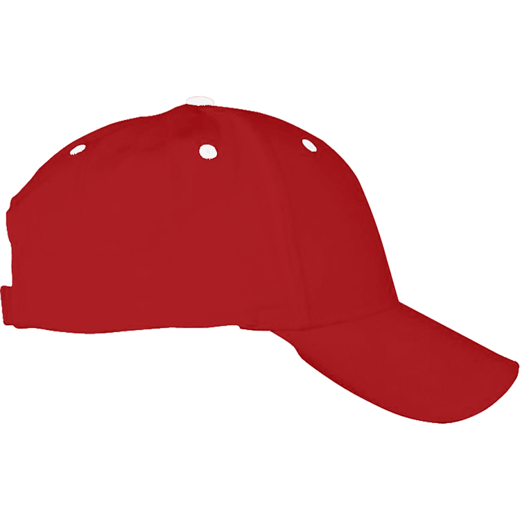 Red & White Ball Cap