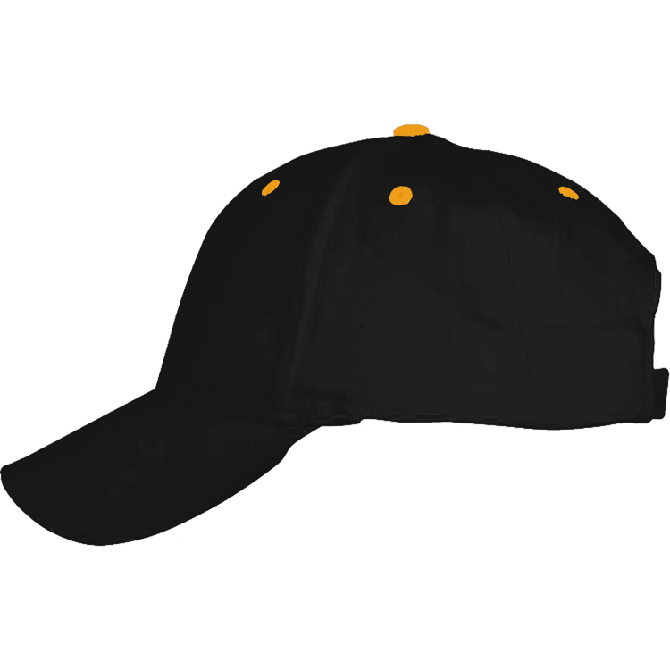 Black & Gold Ball Cap