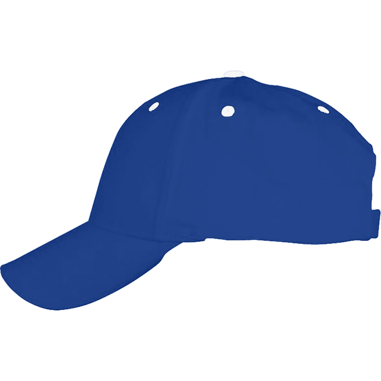 Royal Blue & White Ball Cap