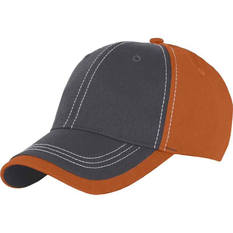 Charcoal Cotton Twill Hat