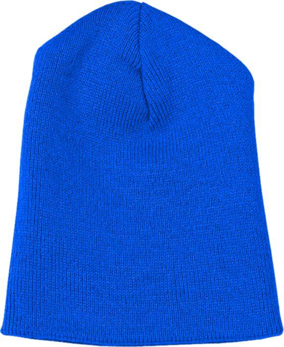 Heather Gray Knit Beanie w/Embroidery Logo