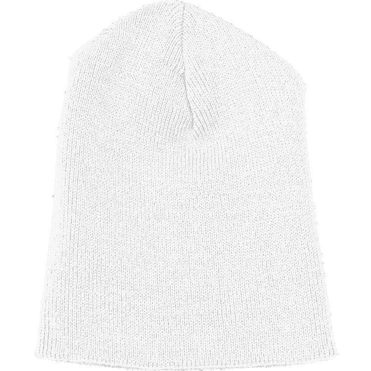 White Knit Beanie