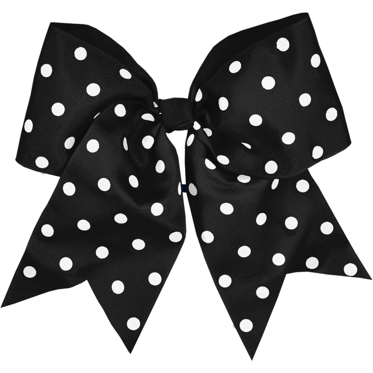Black Dot Bow for Class