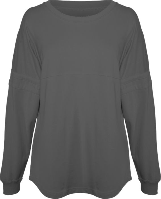 Long Sleeve Campus Tee with Name