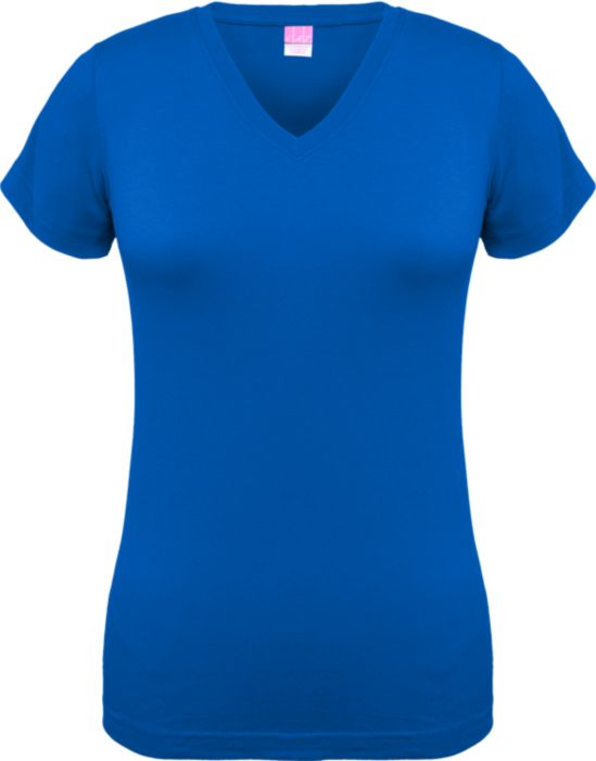 Junior Cut V-Neck Tee