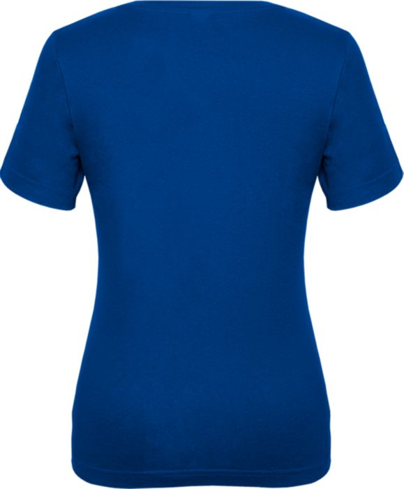 Fitted Ladies V-Neck Tee - Navy