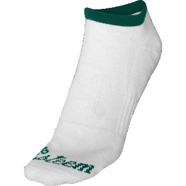 Green No Show Socks
