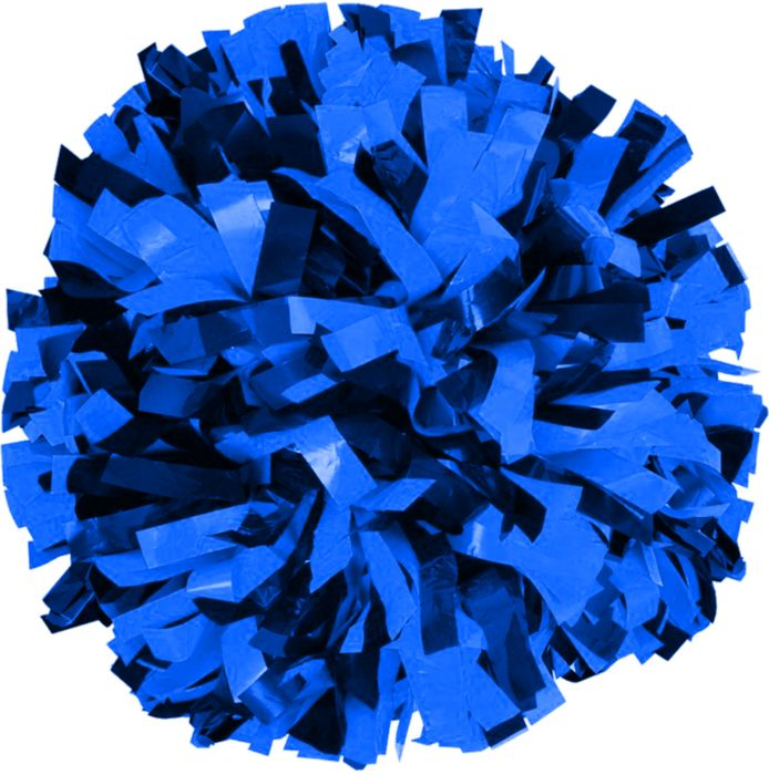 Two-Color 6 Plastic Pom