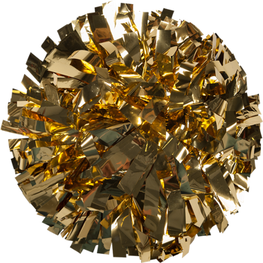 Metallic 4-in Pom