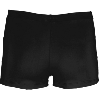 Boy-Cut Shorts - Black