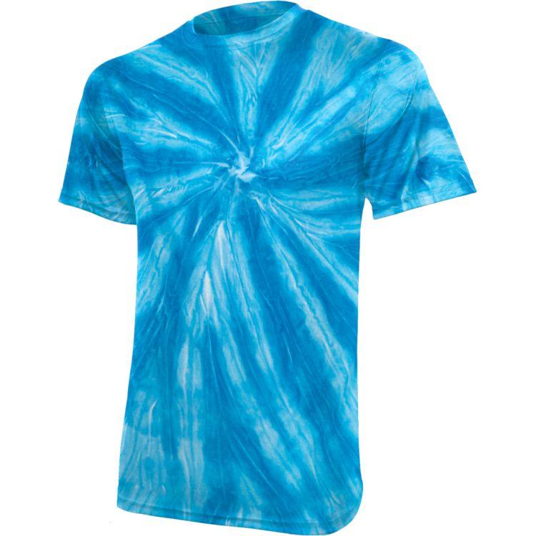 Neon Pinwheel Tie-Dye Tee