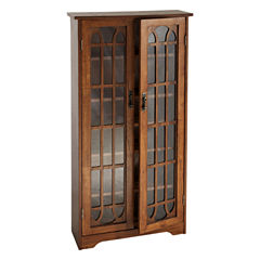 Window Pane Media Cabinet