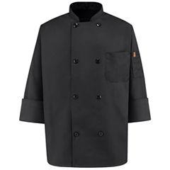 Chef Designs® 8 Pearl Button Chef Coat