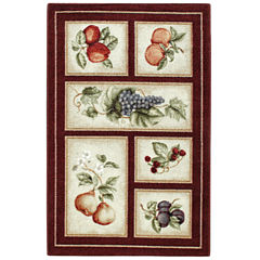 Fresh Fruit Washable Rug Collection