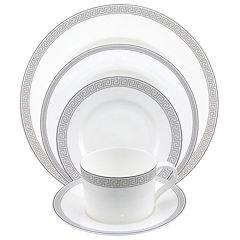 Nikko® Greek Key Bone China Dinnerware Collection