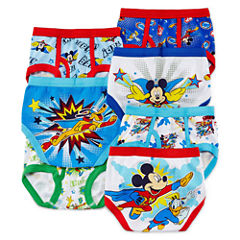 Mickey Mouse 7-pk. Briefs - Toddler Boys 2t-4t