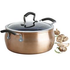 Epicurious® Copper 5-qt. Aluminum Nonstick Chili Pot