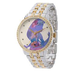 Disney Tangled Womens Two Tone Bracelet Watch-Wds000068