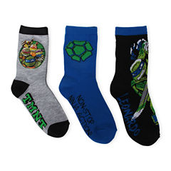 TMNT Crew Socks 3-pc