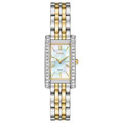 Citizen Womens Two Tone Bracelet Watch-Ex1474-51d