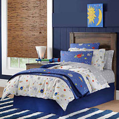 Lullaby Bedding Space Duvet Cover Set