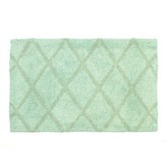 Homewear Linens Criss Cross Bath Rug Collection