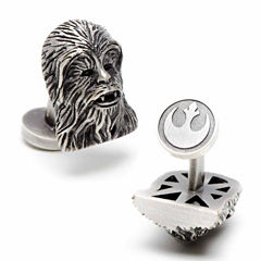 Star Wars® 3D Palladium Chewbacca Cuff Links
