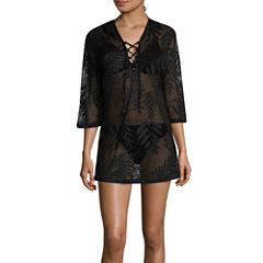 Porto Cruz Crochet Swimsuit Cover-Up Dress