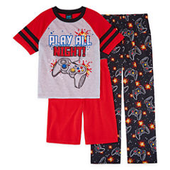 Jelli Fish Kids 3-pc. Gamer Pajama Set Boys