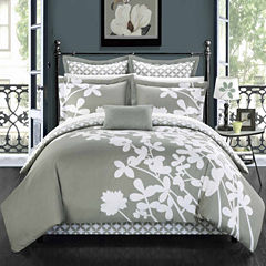 Chic Home Iris 11-pc. Complete Bedding Set With Sheets