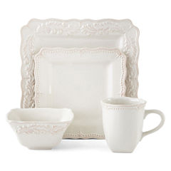 JCPenney Home™ Amberly 16-pc. Square Dinnerware Set
