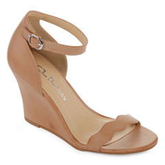 CL by Laundry Brice Womens Wedge Sandals