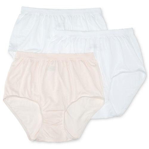 Jockey® Comfies® Cotton 3-pk. Brief Panties - 3348