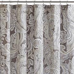 Madison Park Pure Racine Cotton Shower Curtain