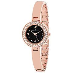 Christian Van Sant Womens Rose Goldtone Bracelet Watch-Cv8615