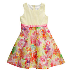Young Land Sleeveless Skater Dress - Preschool Girls