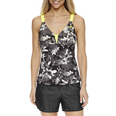 ZeroXposur® Floral Tankini Swimsuit Top or Swim Shorts