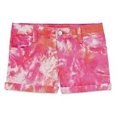 Total Girl Denim Shorts - Big Kid Girls Plus