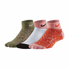 Nike Test 3 Pair Low Cut Socks
