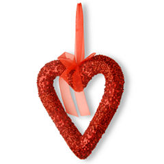 RED BEAD HEART