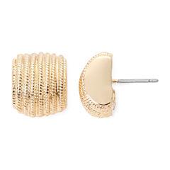 Monet® Gold-Tone Stud Earrings
