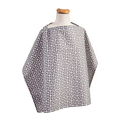 Trend Lab® Nursing Cover - Greek Key
