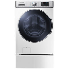 Samsung ENERGY STAR®  5.6 cu. ft. High-EfficiencyFront-Load Washer with PowerFoam